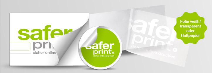 Aufkleber Günstig Drucken Auf Haftpapier Oder Folie Bei