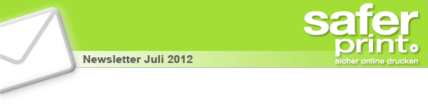 Newsletter Juli 2012