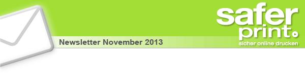 Newsletter November 2013