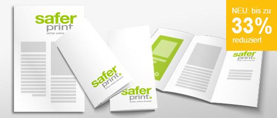 Folder und Flyer 30% reduziert