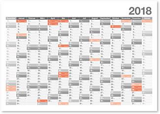 Downloadvorlagen Kalendarium
