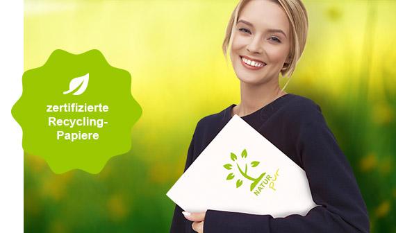 zertifizierte Recycling-Papiere