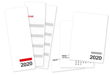 Wandkalender für 2020