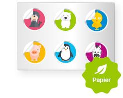 stickerbogen-papier