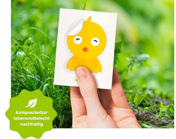 kompostierbar lebensmittelecht nachhaltig