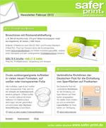 Newsletter von Februar 2012