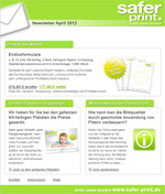 Newsletter von April 2012