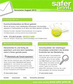 Newsletter von August 2012