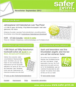Newsletter von September 2012