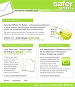Newsletter von Oktober 2012