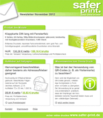 Newsletter von November 2012