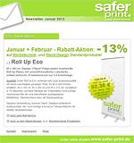 Newsletter von Januar 2013