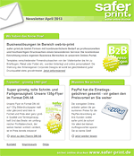 Newsletter von April 2013