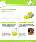 Newsletter von Mai 2013