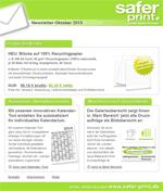 Newsletter von Oktober 2013