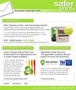 Newsletter von Dezember 2013