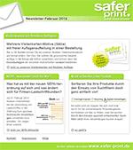 Newsletter von Februar 2014