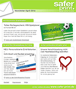 Newsletter von April 2014
