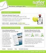 Newsletter von Juli 2014