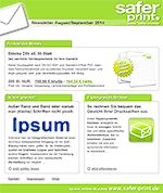 Newsletter von August 2014