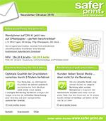 Newsletter von Oktober 2015