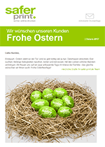 Newsletter von April 2017